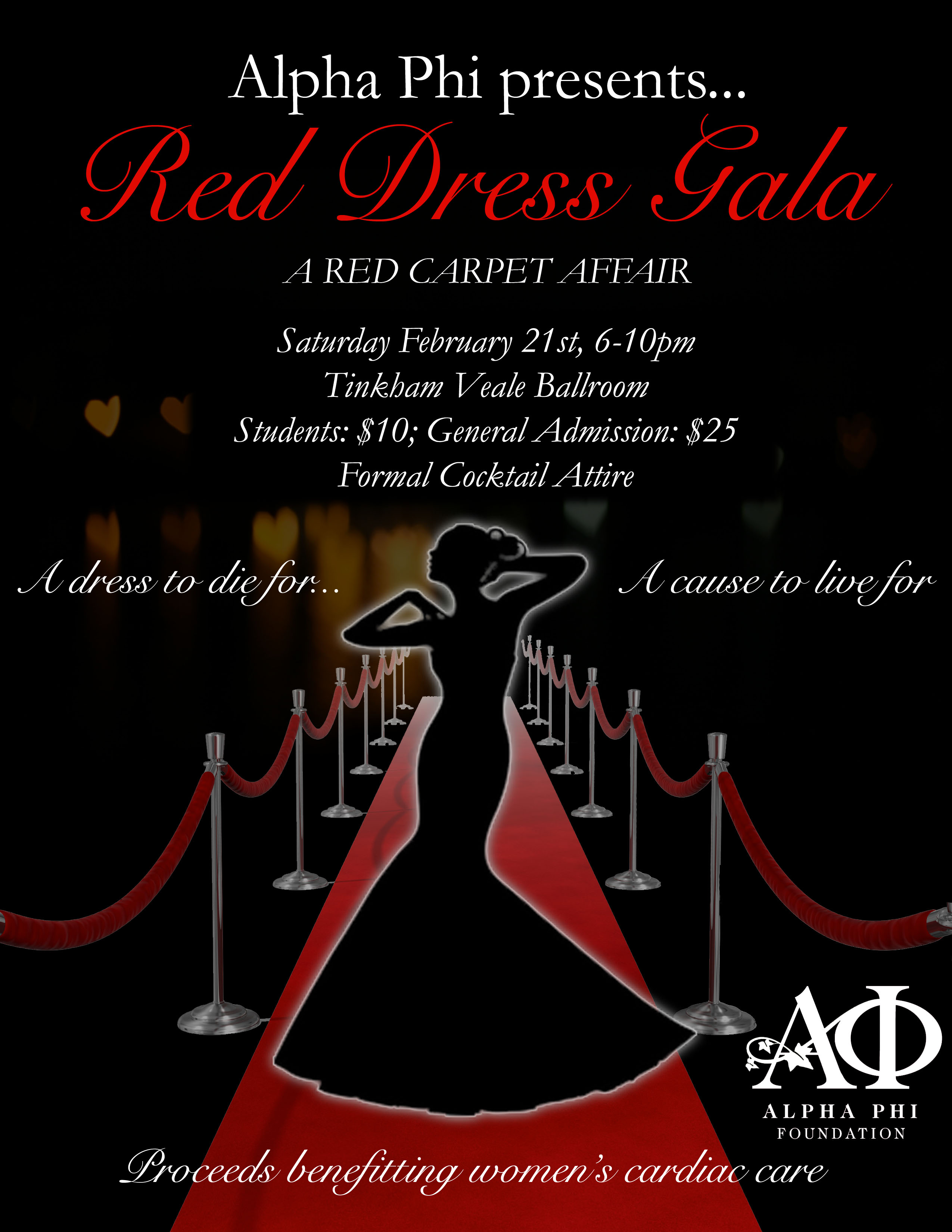 4944eb7ee73 Alpha Phi to host Red Dress Gala to benefit women s cardiac care The ...