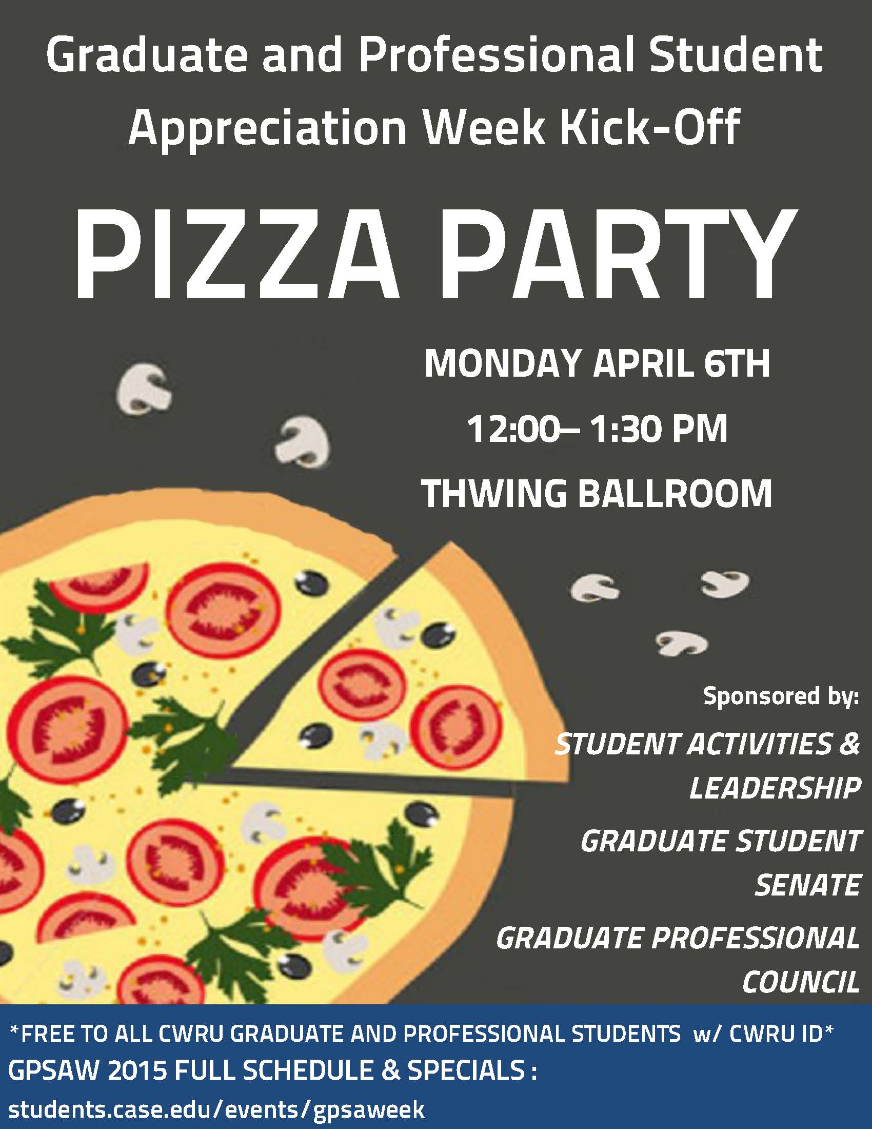 graduate and professional student appreciation week kicks off with