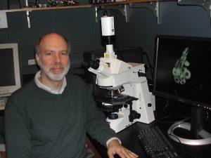 David Katz in a lab