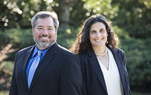 Law School Deans Michael Scharf and Jessica Berg