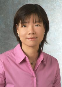 Researcher Chao-Pin Hsiao, an assistant professor in the Frances Payne Bolton School of Nursing