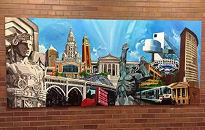 School of Law mural
