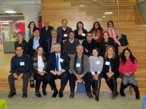 Group picture of international visitors for EducationUSA Leadership Institutes