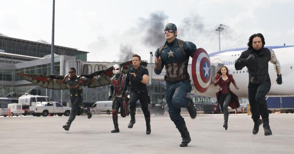 "Scene from ""Captain America: Civil War"""