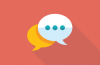 chat bubble icons