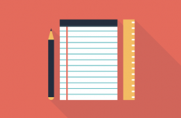 Pencil Notebook Ruler Icon