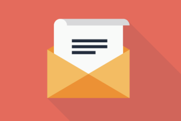 letter and envelope icon