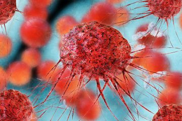 Cancer cells illustration