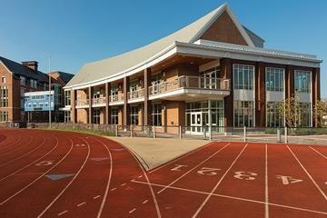 Wyant gym on the CWRU campus