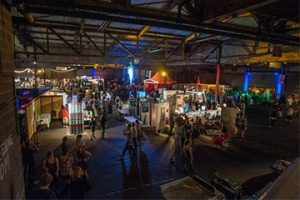 Overhead view of IngenuityFest event