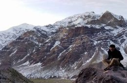 Xavier Murillo in the Andes Mountains