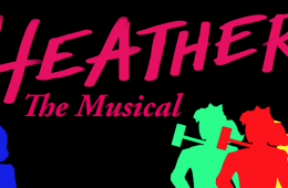 """Banner for """"Heathers: The Musical"""""""