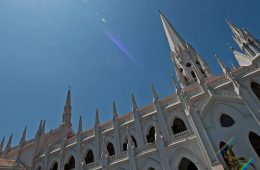 St.Thomas Basilica, a Roman Catholic basilica in Chennai (Madras), India