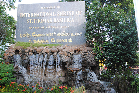 St. Thomas site, Chennai, India