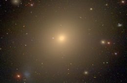 a photo of the giant elliptical galaxy NGC 4472