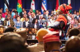 Photo of a crowd at a recent Mandela Washington Fellowship gathering.