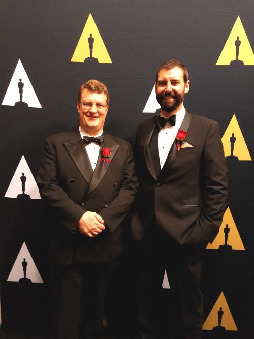 Geoff Wedig and Nick Apostoloff