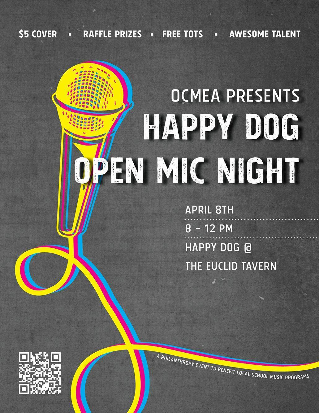 Open Mic Night at Happy Dog The Daily