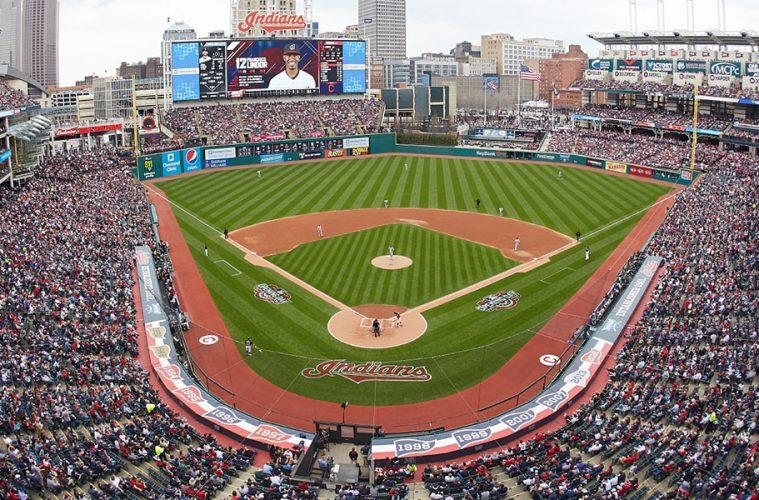 Photo of Progressive Field in Cleveland