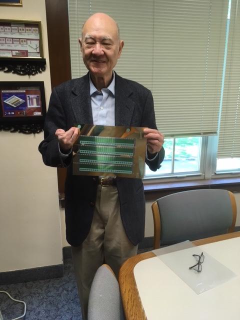 Photo of researcher C.C. Liu