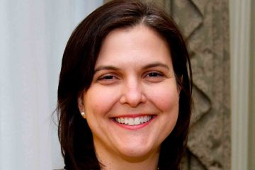 headshot of CWRU political science professor Kathryn Lavelle