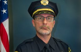 headshot of CWRU police officer Scott Del Rosa