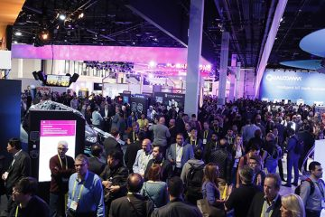 Wide view of CES 2017