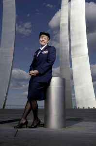 "Alumna Sharon Bannister, featured in ""Lives of Service"" Photo by David Colwell"