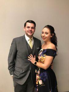 Photo of Brandon Wojtasik and Stephanie Starek