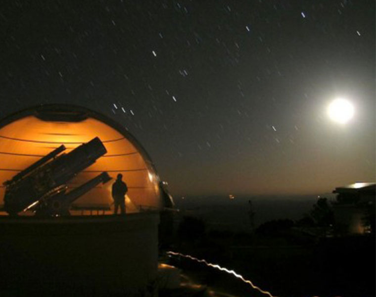 Case Western Reserve's telescope in Arizona