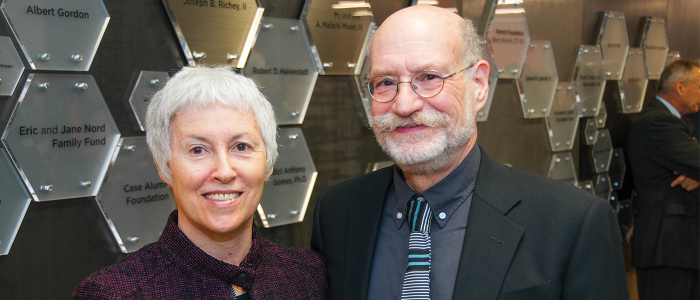 Sally Zlotnick Sears and Larry Sears