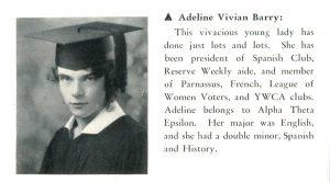 Adeline Barry Davee