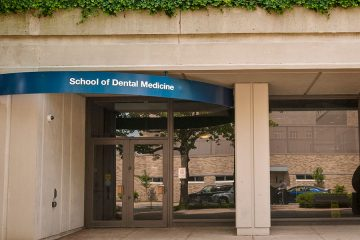 Exterior of the School of Dental Medicine
