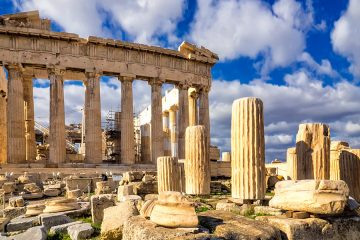 Photo of the Parthenon in Athens, Greece