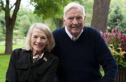 Brenda and Bob Aiken outdoors
