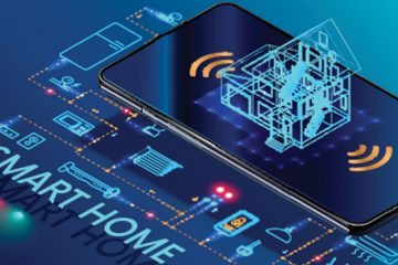 a graphic representation of a smart home