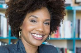 Photo of visual artist and activist LaToya Ruby Frazier