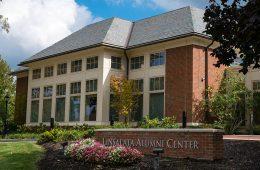 Exterior of the Linsalata Alumni Center
