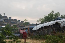 Photo of a Rohingya camp