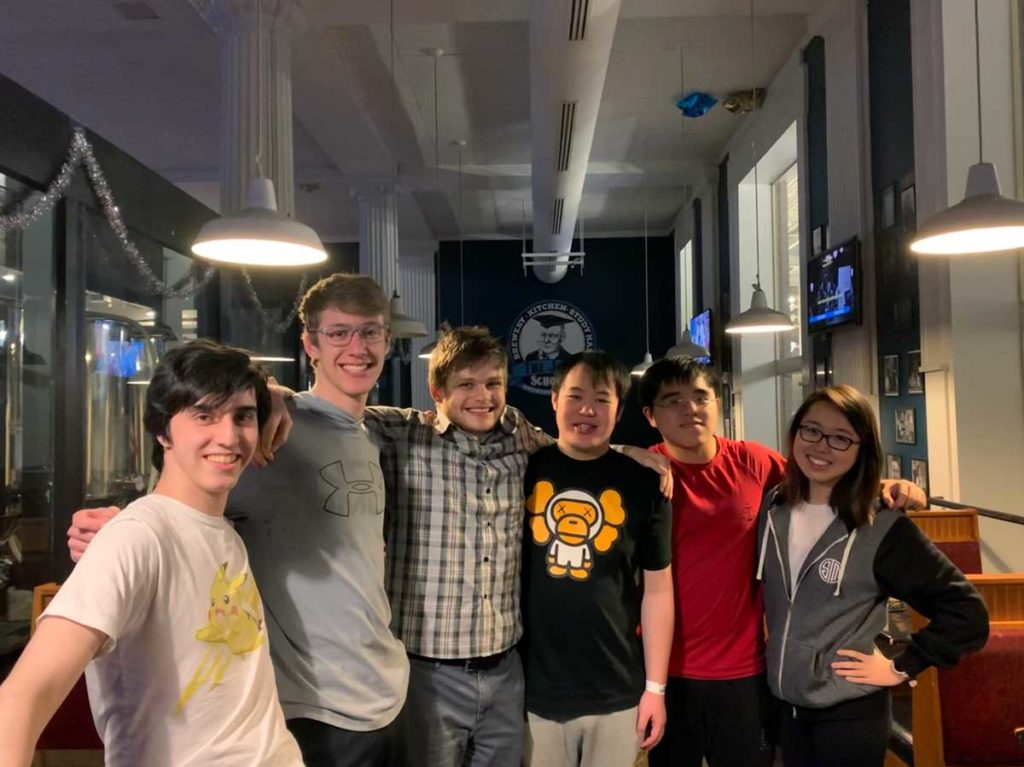 Case Western Reserve League of Legends 2019 team