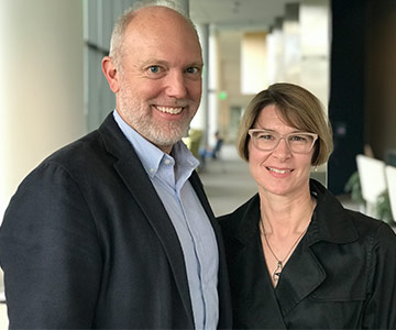 Photo of Michael Householder and Martha Schaffer