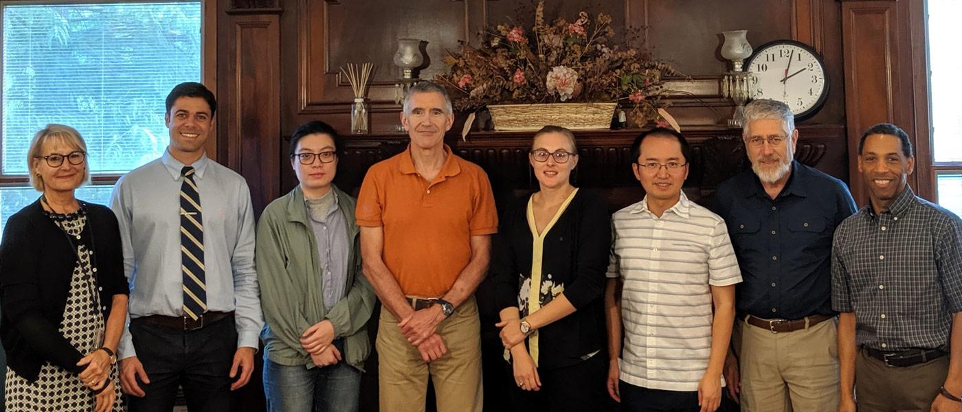 Photo of Sarah de Swart, Thiago Porto, An Wang, Timothy Wutrich, Lydia Kisley, Xuan Gao, Joseph Koonce and Scott Wilkes