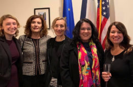 Photo of Kimberly Osbern, Lilas Al Dakr, Charlotte Sanpere, Fabienne Pizot-Haymore and Cheryl Toman