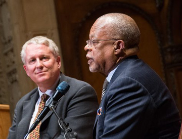 Peter Knox and Henry Louis Gates Jr.