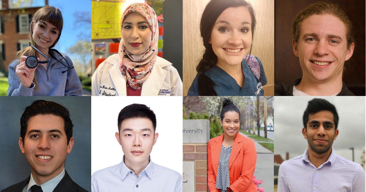 Meet eight of CWRU's outstanding 2020 graduates