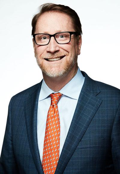 Headshot of Case Western Reserve alumnus Ed Shellard