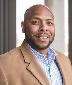 Headshot of Case Western Reserve assistant professor Blanton Tolbert