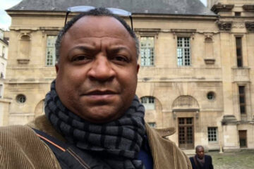 Photo of Craig Lanier Allen in Paris