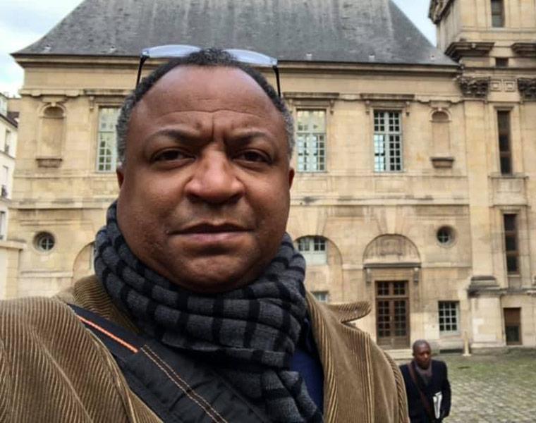 Photo of Craig Lanier Allen in Paris