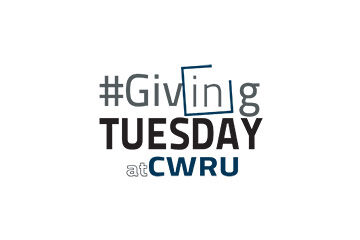 Photo of the #GivingTuesdayAtCWRU logo